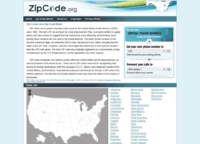 Zipcode.org thumbnail
