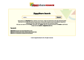 Zippysharesearch.info thumbnail