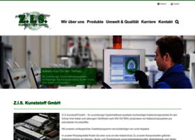 zis-kunststoff.de at WI. Willkommen - Z.I.S. Kunststoff GmbH