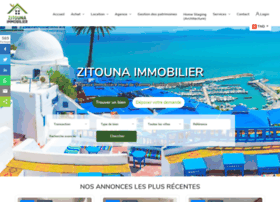 Zitounaimmobilier.com thumbnail