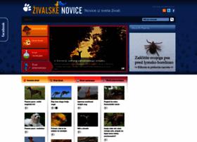Zivalskenovice.si thumbnail