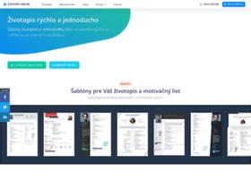 Zivotopis-online.sk thumbnail