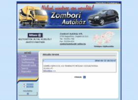 Zomboriautohaz.hu thumbnail