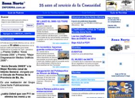 Zonanorteinforma.com.ar thumbnail