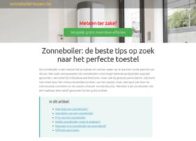 Zonneboiler-kopen.be thumbnail