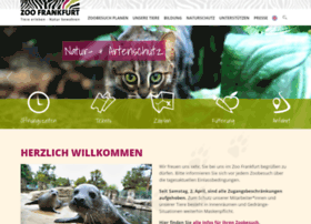 Zoo-frankfurt.de thumbnail