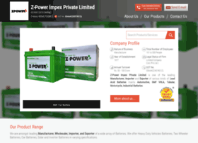 Zpower.co.in thumbnail