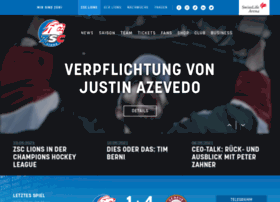 Zsclions.ch thumbnail