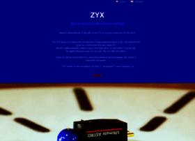 Zyx-audio.com thumbnail