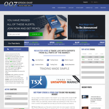 007stockchat com at WI  NASDAQ Small Cap : Best Penny Stocks Chat