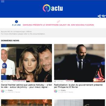 01actu.fr thumbnail