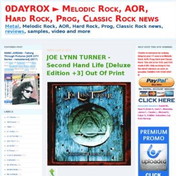 0dayrox blogspot com at WI  0DAYROX ▻ Melodic Rock, AOR, Hard Rock