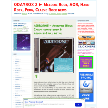 0dayrox2 blogspot sk at WI  0DAYROX 2 ▻ Melodic Rock, AOR, Hard