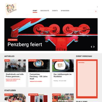100-jahre-penzberg.de thumbnail