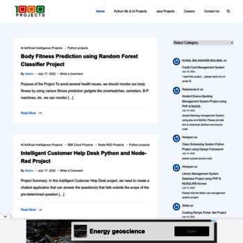 1000projects org at WI  1000 Projects - Free BTech BE Projects