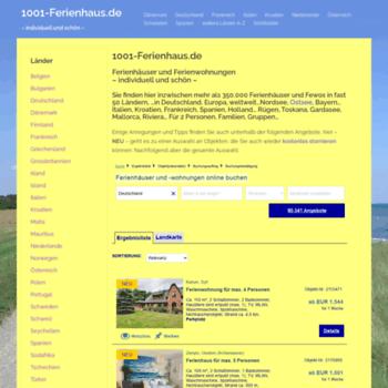 1001-ferienhaus.de thumbnail