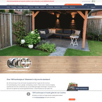1001tuinhuisjes.nl at website informer. home. visit 1001 tuinhuisjes.