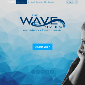 The Wave Nanaimo >> 1023thewave Com At Wi 102 3 The Wave