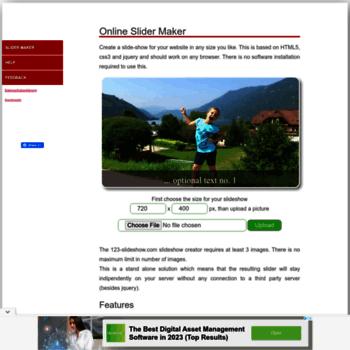 online slider maker