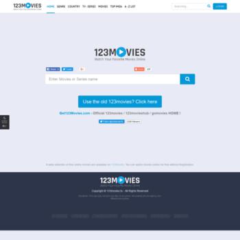 123movies online old version