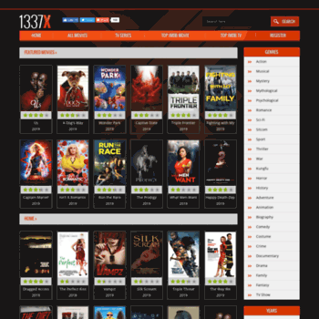 1337x movies library