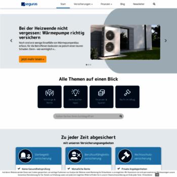 1a-zahn-zusatzversicherung.de thumbnail