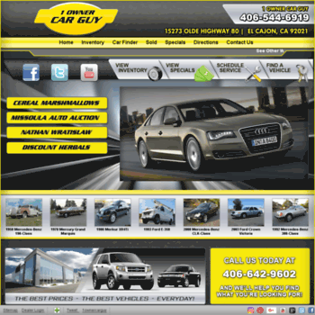 1ownercarguy Com At Wi 1 Owner Car Guy Used Cars El Cajon Ca Dealer