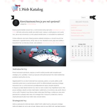 1webkatalog.cz thumbnail