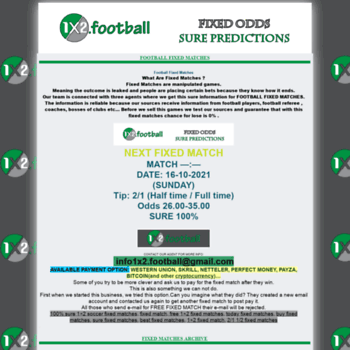 1x2 football at WI  1x2 football and soccer predictions - 1x2