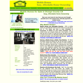 Mobile Home For Sale In Orange County on apartments in orange county, model homes in orange county, events in orange county, zip codes in orange county,
