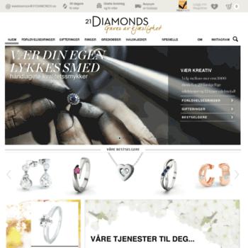 21diamonds.no thumbnail