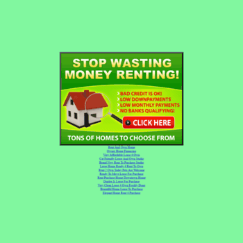 2own net at WI  www 2own net - Rent To Own Homes - Complete List