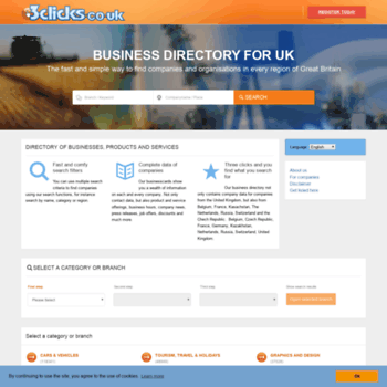 3clicks co uk at WI  3clicks co uk - company business directory