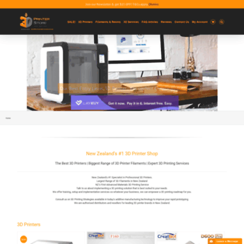 3dprintingservices.co.nz thumbnail