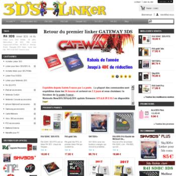 3ds-linker com at WI  Acheter linker R4 3ds: R4i sdhc, R4i gold 3DS