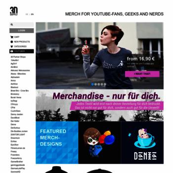 3dsupply de at WI  3dsupply de - Youtube Merch and more