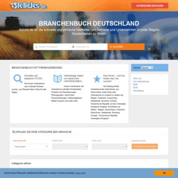 3klicks de at WI  3klicks de - german company business