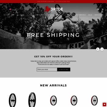 3ride.com at WI. 3RIDE BMX SHOP - CANADA S GREATEST BMX STORE AND ... 802b2de68