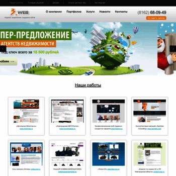 Веб сайт 3xweb.ru