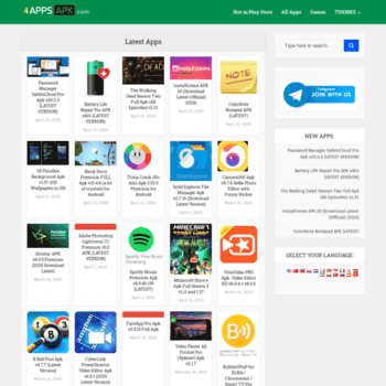 4appsapk com at WI  4AppsApk - Download Android Apps, Games APK for free