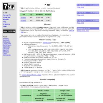 7-zip org pl at WI  7-ZIP - Program do Pakowania 7-Zip