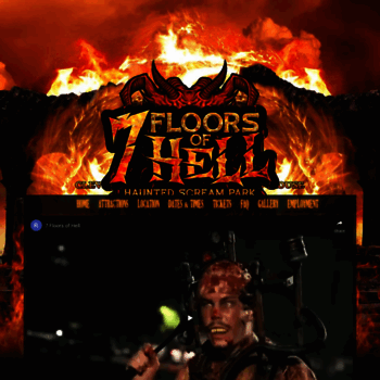 7floorsofhell Com At Wi 7 Floors Of Hell Haunted Attraction In