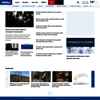 9news com at WI  Denver's Leading Local News: Weather
