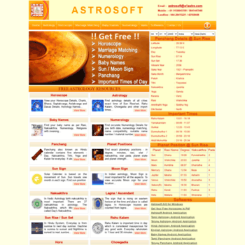 a1astro com at WI  A1Astro - Indian Astrology, Horoscope, Marriage