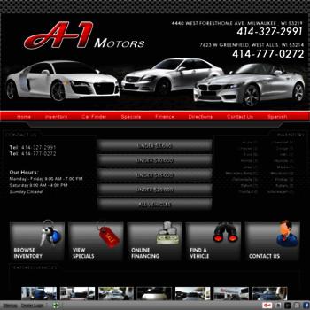 A1motorswi.com thumbnail. A-1 Motors - Used Cars - West Allis ...