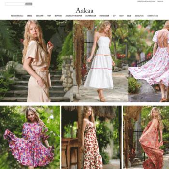 b3bf18a9175 aakaafashion.com at WI. Aakaa Fashion - Women s Clothing