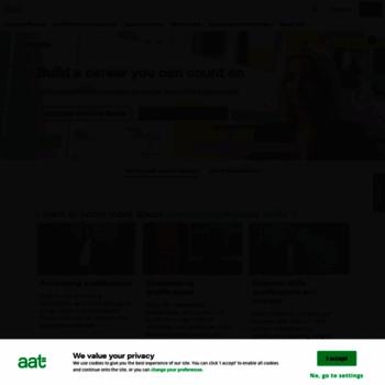 Aat.org.uk thumbnail
