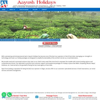 Aayushholidays.com thumbnail
