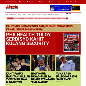 Abante.com.ph thumbnail