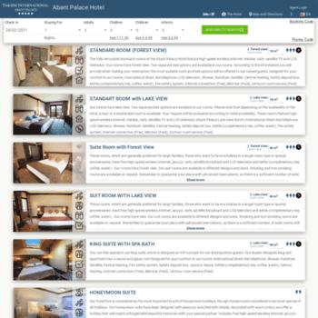 Abantpalacehotel.reservehotel.net thumbnail